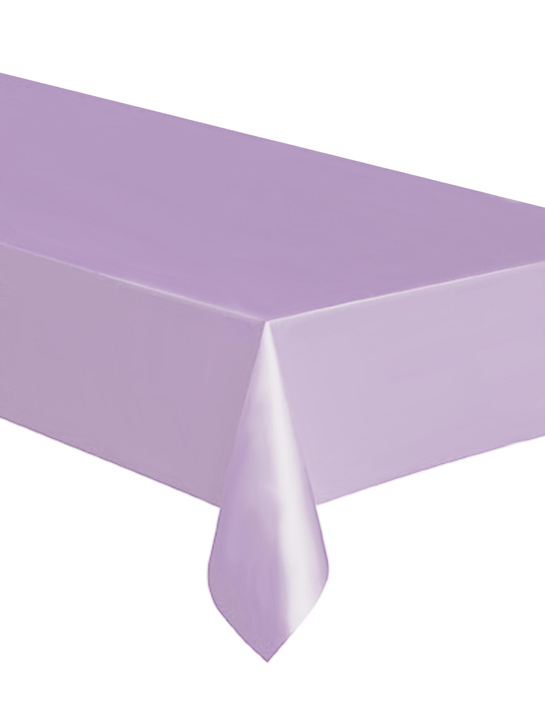 Tovaglia di plastica rettangolare color lavanda su vegaooparty negozio di articoli per feste - Fermatovaglia per tavoli di plastica ...