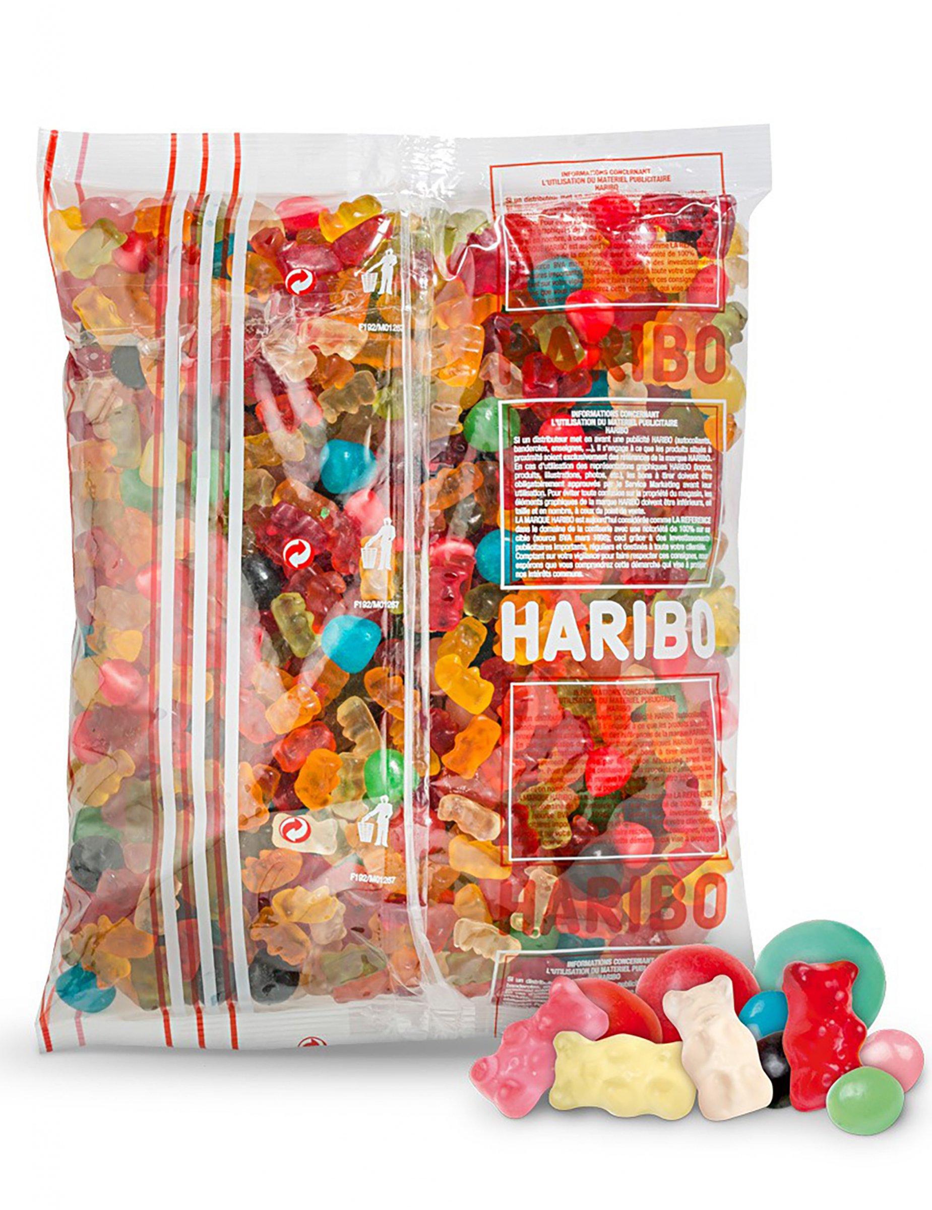 Super Un sacchetto di caramelle gigante Haribo su VegaooParty, negozio  XQ94