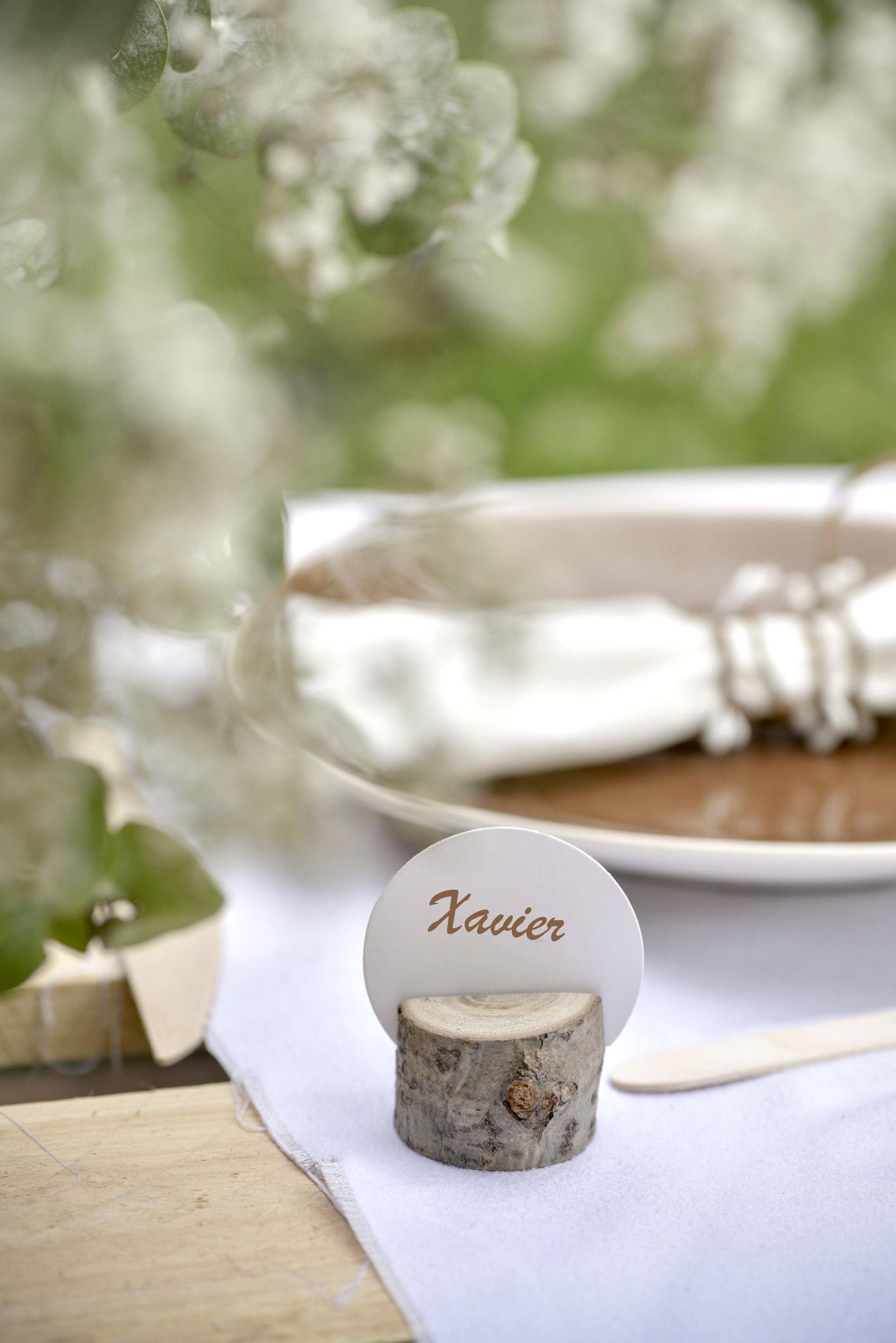 Segnaposto Matrimonio In Legno : Segnaposto rondelle di legno su vegaooparty negozio