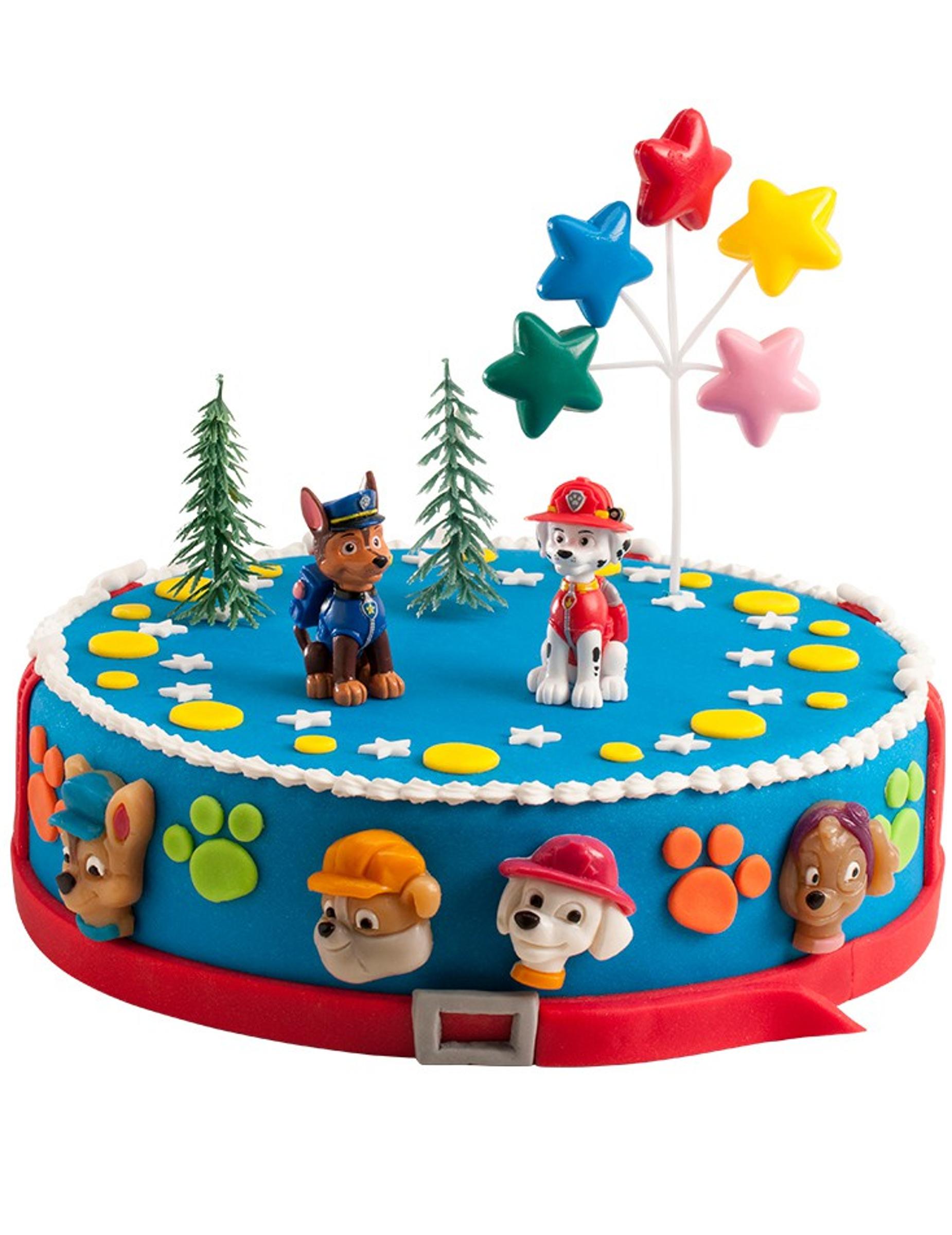 spesso Kit decorazioni per torta Paw Patrol™ su VegaooParty, negozio di  HB54