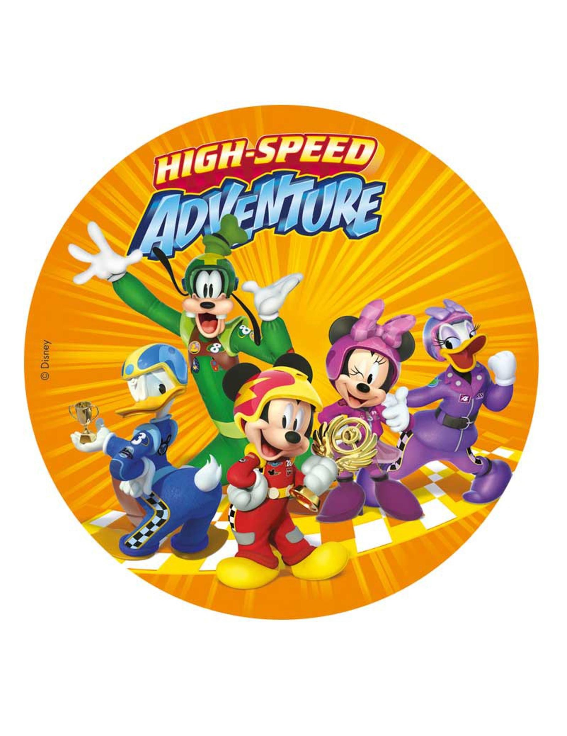 Disco dr 39 ostia topolino con i suoi amici su vegaooparty for Decorare la stanza di minnie e topolino