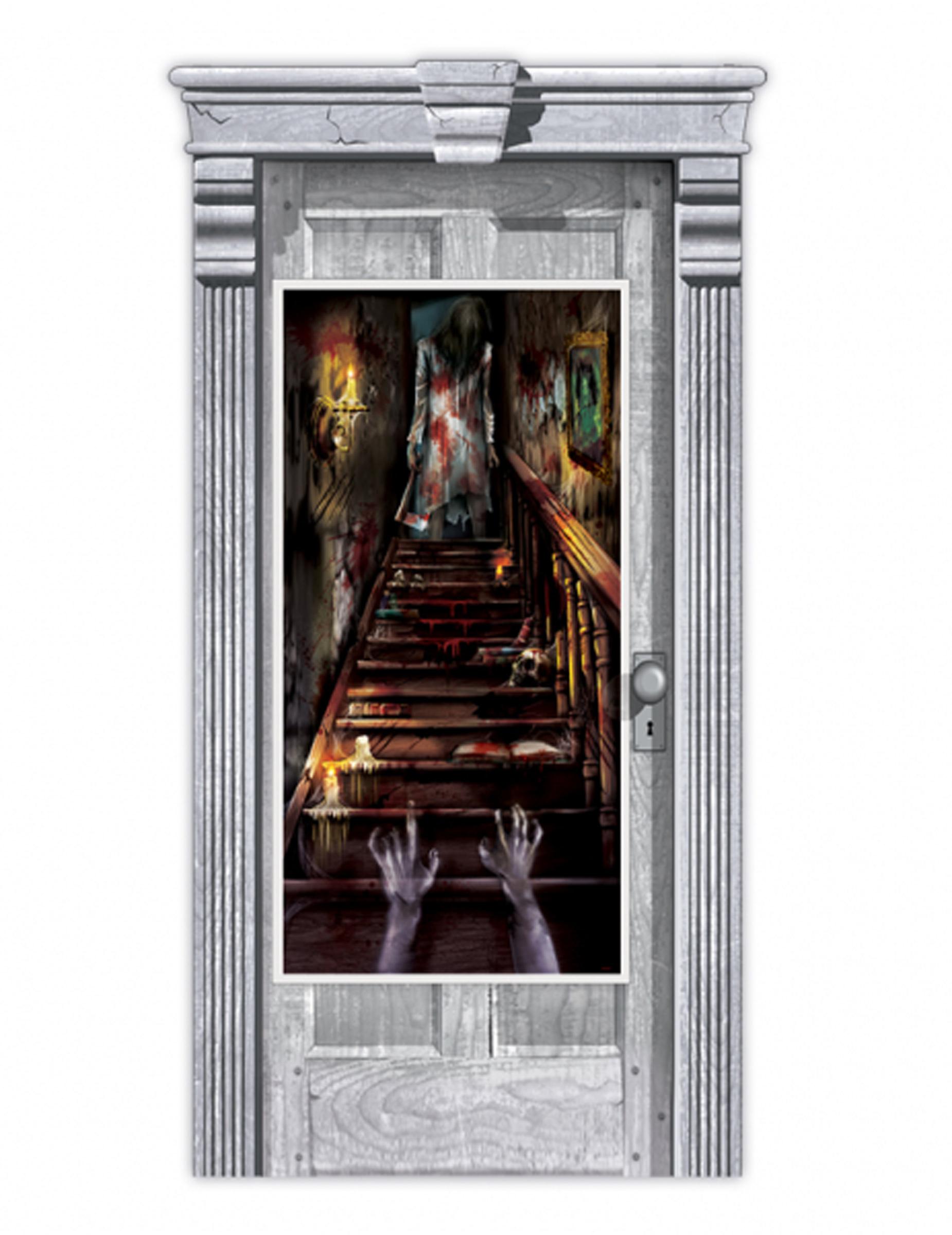 Decorazione per porta casa stregata zombie su vegaooparty for Decorazione di casa