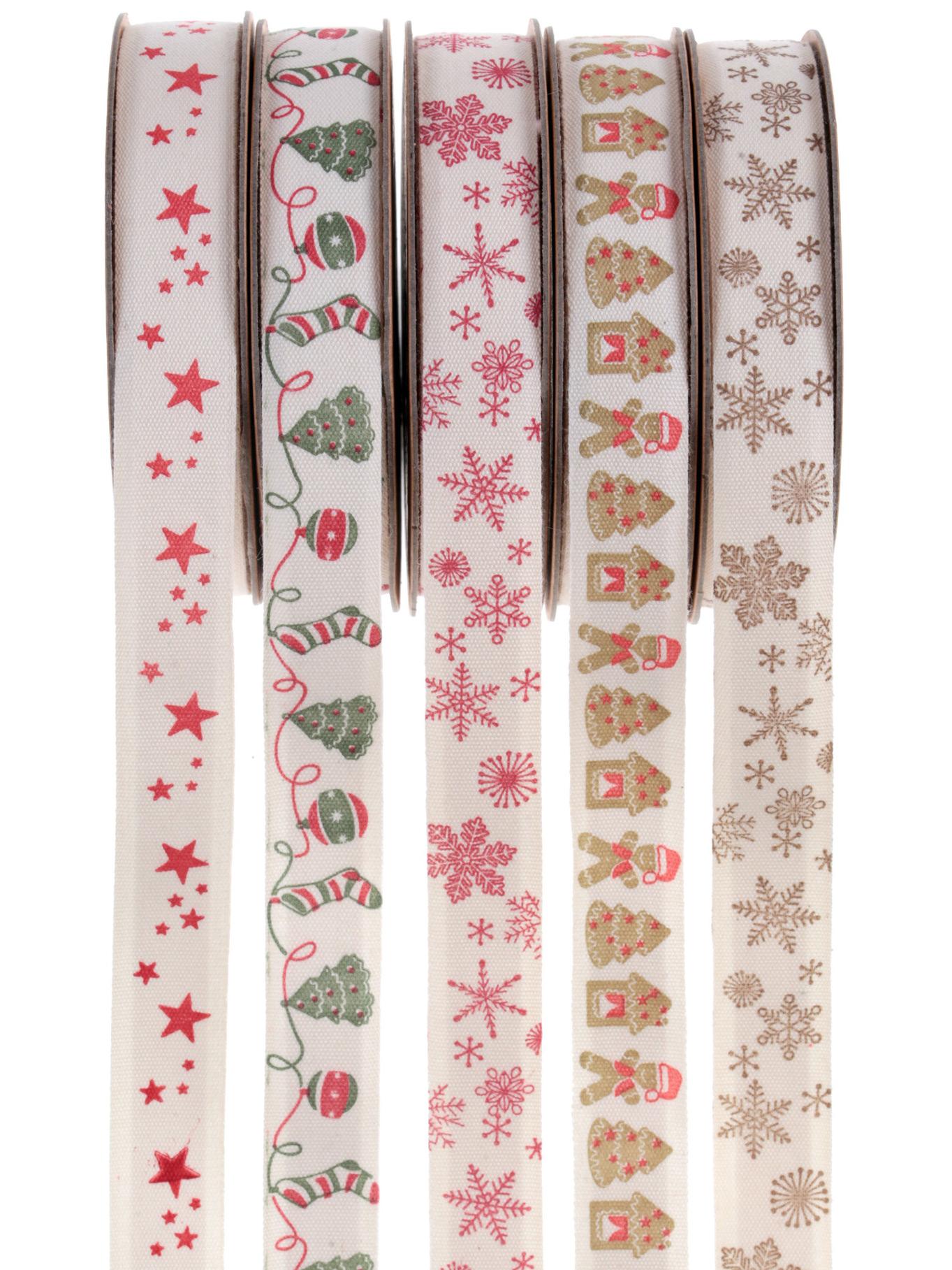 5 nastri adesivi natalizi su vegaooparty negozio di articoli per feste - Nastri decorativi natalizi ...