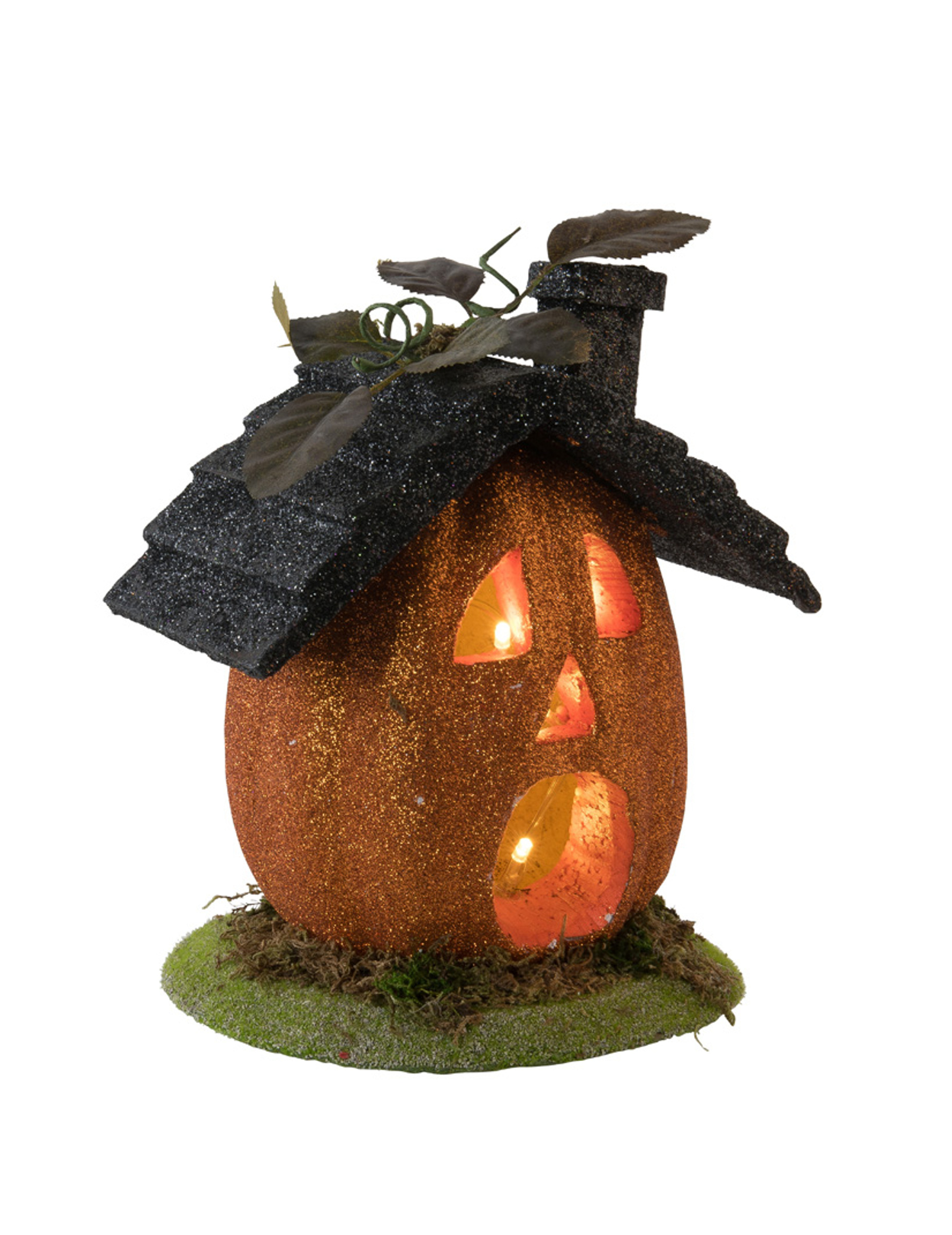 Casetta a forma di zucca luminosa halloween su vegaooparty for Zucca halloween luminosa