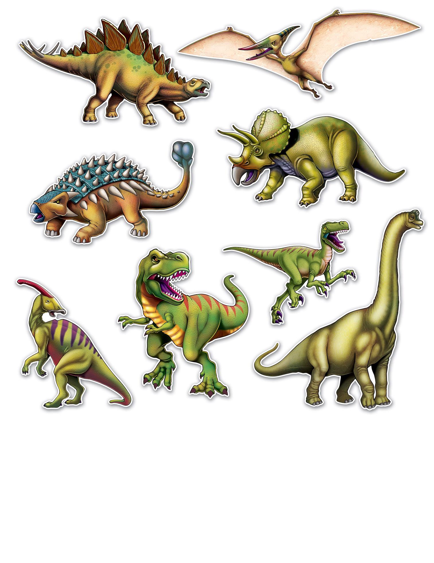 Sagome in cartone dinosauri su vegaooparty negozio di