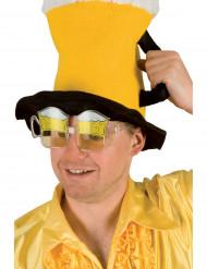 occhiali a forma di boccale di birra per adulti