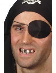 Trucco nero per denti per adulto