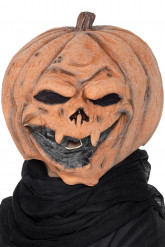 Maschera da zucca per adutli Halloween