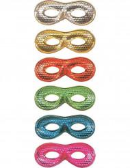 Mascherina brillante colorata per adulto