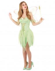Costume sexy da fatina verde da donna
