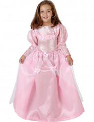 Costume da principessa rosa chiaro bambina