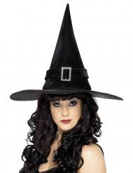 Cappello strega donna nero  Halloween