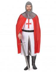 Costume da cavaliere crociato per adulto