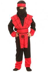 Costume da ninja ragno per bambino