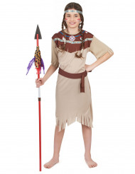 Costume da ragazza indiana
