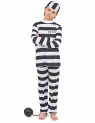 Costume da prigioniero bambino