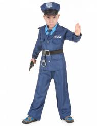 Travestimento poliziotto blu per bambino