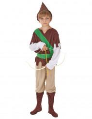 Costume per ragazzo da difensore dei boschi