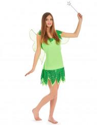 Costume da fata verde per donna