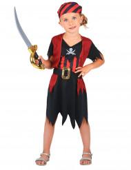 Travestimento piratessa bambina