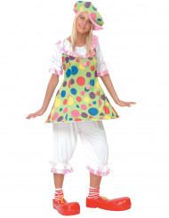 Costume da pagliaccio per donna