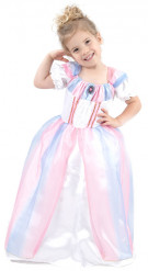 Costume principessa rosa e lilla per bambina