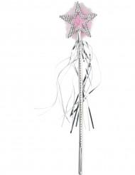 Bacchetta magica con stella scintillante