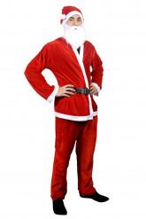 Costume di Babbo Natale per adulto