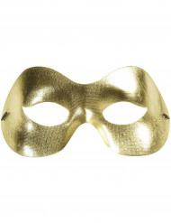 Maschera dorata per adulto