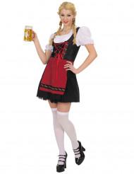 Travestimento da bavarese per donna