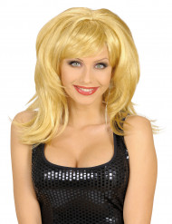 Parrucca da donna bionda