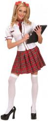 Costume divisa studentesca per donna