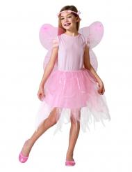 Travestimento da fata rosa per bambina