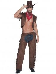 Costume sexy da cowboy per adulto