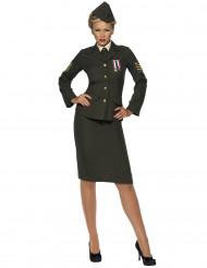 Costume da ufficiale militare per donna