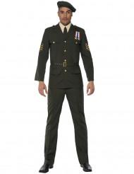 Costume da ufficiale militare per adulto