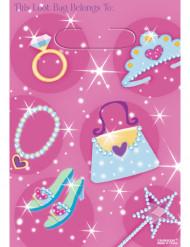 Una confezione di 6 borse in plastica da bimba