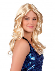 Parrucca donna da discoteca
