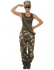 Costume militare per donna