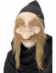 Maschera baffuta da vecchio stregone