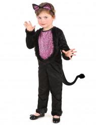 Costume da gattina per bimba