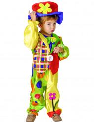 Costume colorato da clown bimbo