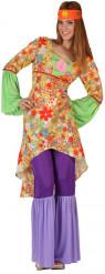 Costume da hippy per donna