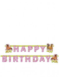 Ghirlanda articolata Happy Birthday cavalli