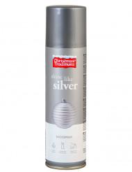 Bomboletta spray color argento