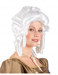 Parrucca barocca da donna