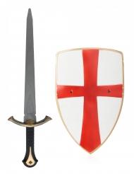 Spada e scudo da cavaliere bambino