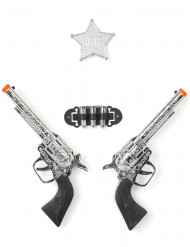 Set 2 pistole di plastica per bambino