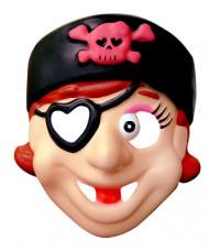 Maschera pirata da bambina