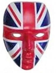 Maschera con bandiera Regno Unito